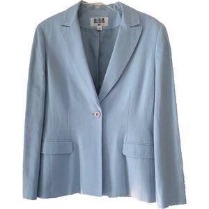 NWT Authentic Bill Blass Blazer Powder Blue